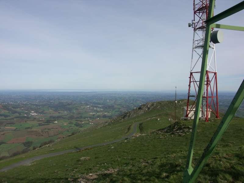 En haut du Baigura