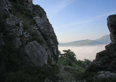 Randonnée à l'Haltzamendi