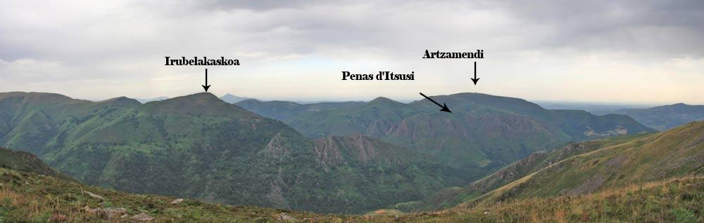 vue depuis l'Irubelakaskoa