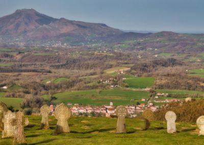 Rando au Mondarrain - Cimetierre basque au dessus d'Ainhoa