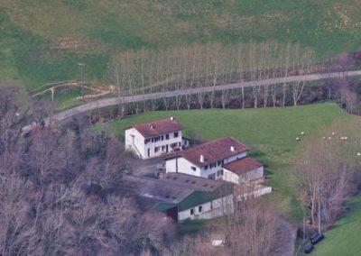 Rando au Mondarrain - Ferme basque